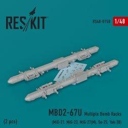 MBD2-67U Multiple Bomb Racks 1:48