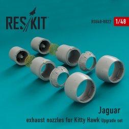 Jaguar exhaust nozzles for Kitty Hawk 1:48
