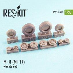 Mil Mi-8/ Mi-17 wheels set 1:35