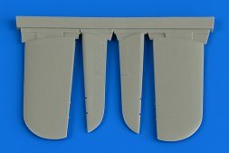 Hawker Sea Fury FB.11 control surfaces for Airfix 1:48