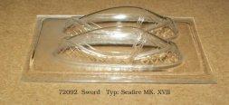 Seafire MK. XVII canopy for Sword 1:72