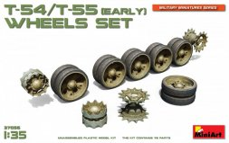T-54/ T-55 (early) wheels set 1:35