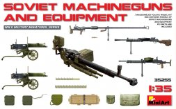 Soviet Machineuns and Equipment 1:35