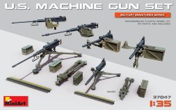U.S. Machine Gun Set 1:35