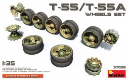 T-55/T-55A wheels set 1:35