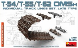 T-54/T-55/T-62 OMSh Individual Track Links Set (Late) 1:35