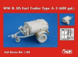 US Fuel Trailer Type A-3 WWII (600 gal.) 1:48