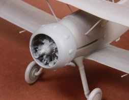 Gloster Gladiator Mk.I/Mk.II engine & cowling for Roden 1:48