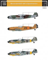Bf 109F in Spanish Service 1:48