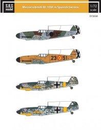 Bf 109F in Spanish Service 1:72