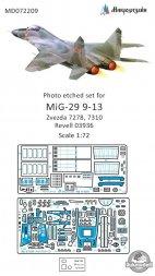MiG-29 (9-13) detail set for Zvezda 1:72