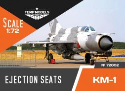 KM-1 ejection seats 1:72