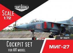 MiG-27 cockpit set for ART model 1:72