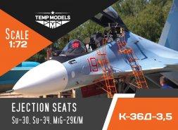 K-36D-3,5 ejection seats 1:72