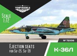 K-36L ejection seats 1:72