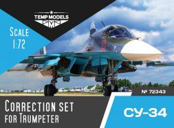 Su-34 correction set for Trumpeter 1:72