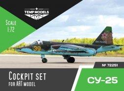 Su-25 cockpit set for ART model 1:72