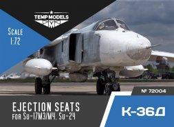 K-36D ejection seats 1:72