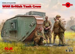 British Tank Crew WWI 1:35