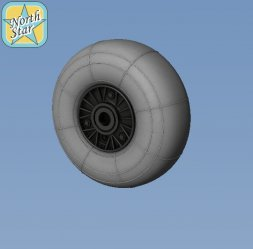 Fw 190A/F/G wheels - Perforated early main disk 1:48