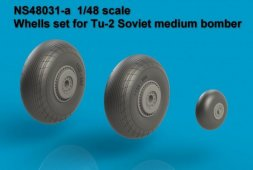 Tu-2 Wheels set 1:48