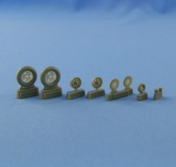 Bf 109 B.C.E (early) wheels set 1:48