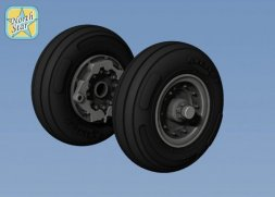 Bell V-22 Osprey wheels set 1:72