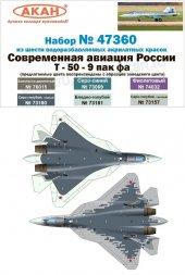 Russian Modern Air Force - Su-57 New Camouflage scheme