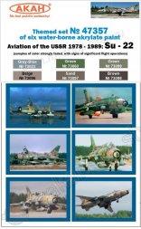 USSR Air Force - Su-17/Su-22 (1978-1989) faded