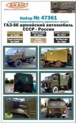 USSR/ Russian Modern Army - GAZ-66
