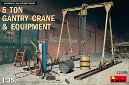 5 Ton Gantry Crane & Equipment 1:35