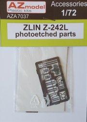 Zlin Z-242L photoetched parts 1:72