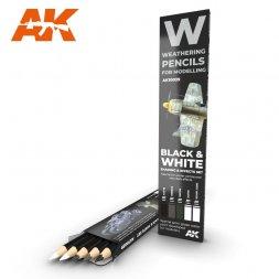 Black & White: Shading & Effects Pancils Set