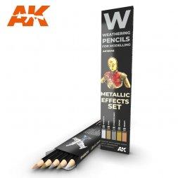 Metallic Effects Pencils Set