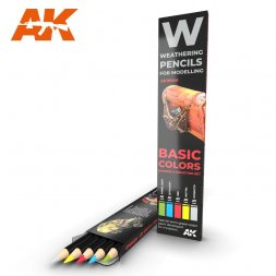 Basic Colors: Shading & Demotion Pencils Set