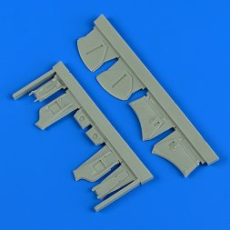 Hawker Hunter undercarriage covers 1:48