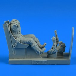 US NAVY WWII Pilot with seat for F4U Corsair 1:32