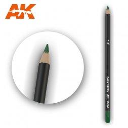 Weathering Pencil Drak Green
