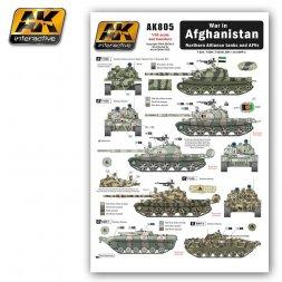 Afghanistan War - Northern Alliance tank an AFVs 1:35