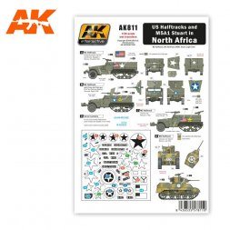 US Halftracks and M5A1 in North Afrika 1:35
