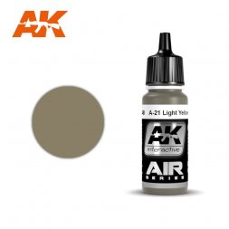 A-21 Light Yellowish Brown 17ml