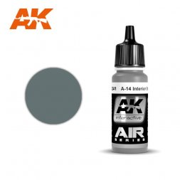 A-14 Interior Steel Grey 17ml