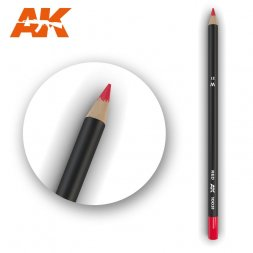 Weathering Pencil Red