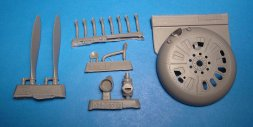 I-153 Chaika (cowl, prop, oilcooler) for ICM 1:32