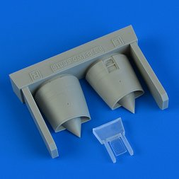 Mirage F.1B air intakes 1:72