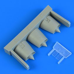 Mirage F.1 air intakes 1:72
