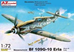 Messerschmitt Bf 109G-10 ERLA early, block 49XX 1:72
