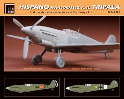 Hispano HA-1109/1112 K.1L Tripala conversion set 1:48