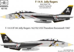 F-14A Tomcat - Jolly Rogers (Theodore Rosswelt) 1:48