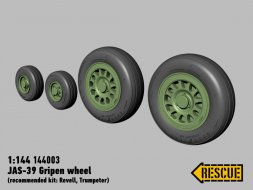 JAS-39 Gripen wheel set 1:144